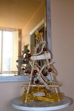 Albero di Natale 2014 con materiali di recupero. #faidate #alberodinatale #fattoamano #handmade