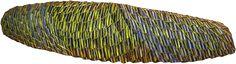 (tissages végétaux peinture minérale collage) 54x17cm Collage, Rugs, Wood, Crafts, Home Decor, Weaving, Paint, Farmhouse Rugs, Collages