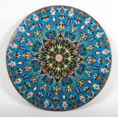 Lot: Chinese cloisonne enamel circular plaque, Lot Number: 1003, Starting Bid: $80, Auctioneer: Alex Cooper, Auction: Antique Furniture; Glass; Silver and Jewelry, Date: June 29th, 2014 EEST