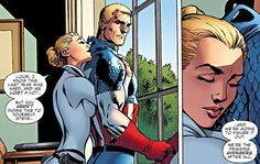 Sharon Carter (Agent and Captain Steve Rogers ❤️❤️❤️ Steve Rogers, Steven Grant Rogers, Comic Book Heroes, Marvel Heroes, Marvel Dc, Stucky, Sharon Carter Captain America, Marvel Future Fight, Super Soldier