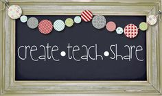 Neat teaching ideas and decorations for the classroom!   {Kim}