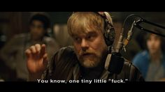 """Phillip Seymour Hoffman as """"The Count"""", Pirate Radio Hannah Hunt, The Boat That Rocked, Rock Revolution, Love Radio, Philip Seymour Hoffman, Rock Quotes, First Love, My Love, Movie Quotes"""