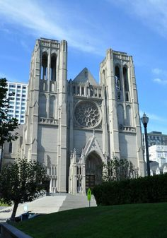 Grace Cathedral in San Francisco. Website with wonderful sightseeing advice