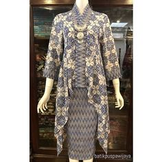 Kebaya Lace, Kebaya Dress, Batik Kebaya, Kebaya Brokat, Muslim Fashion, Ethnic Fashion, Hijab Fashion, Fashion Dresses, Model Kebaya Modern