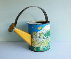 1950s Tin Toy Watering Can