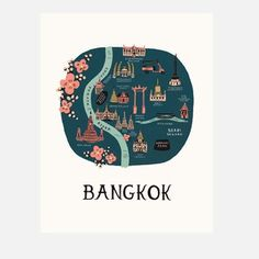 Bangkok Print, 40€, now featured on Fab.
