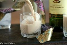 Homemade Irish Cream is super easy to make and tastes so much better than store-bought. Add it to your coffee, drink it on the rocks, or give a bottle away as a gift! Steak Casserole, Corn Casserole, Sweet Cream Corn, Best Coconut Cream Pie, Homemade Irish Cream, St Patricks Day Drinks, Cucumber Tomato Salad, Cream Pie Recipes, Creamed Corn