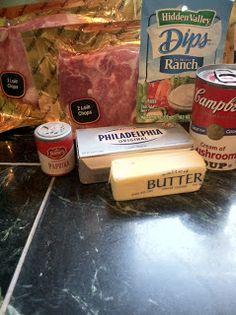 2 Savvy Gals: Creamy Ranch Pork Chops (Crockpot recipe)