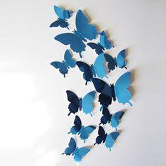 3D Mirror Wall Art Butterfly Stickers - Mom Abode