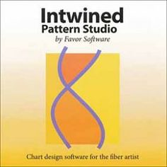 Intwined Pattern Studio Software - Knitting Tools and Accessories Knitting Designs, Knitting Projects, Crochet Projects, Software Apps, Studio Software, Chart Design, My Design, Accessories Display, Must Have Tools