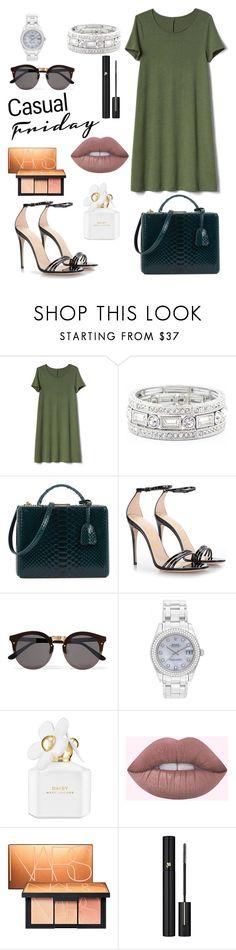 Designer Clothes, Shoes & Bags for Women Mark Cross, Nars Cosmetics, Rolex, Marc Jacobs, Gap, Gucci, Shoe Bag, Casual, Polyvore
