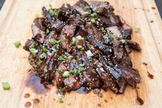 A delicious, from scratch teriyaki sauce that turns ordinary steak into a flavorful, Asian-inspired delight! ~ https://www.fromvalerieskitchen.com