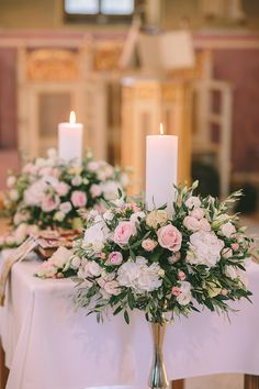 Individuals seek for: wedding ceremony candles! See of made by hand, classic, and one-of-a-kind goods and their personal gifts regarding your search. Diy Wedding Wreath, Church Wedding Decorations, Altar Decorations, Wedding Church, Wedding Ceremony, Floral Wedding, Rustic Wedding, Wedding Flowers, Royal Wedding Guests Outfits