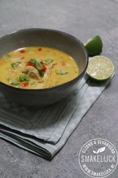 Thai Recipes, Asian Recipes, Healthy Recipes, Tom Kha Kai, Chex Mix Recipes, Healthy Soup, Food Inspiration, Curry, Dinner