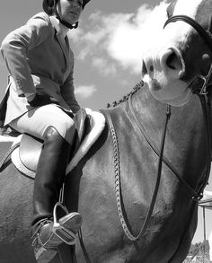 rider taking a break by sadashotit, via Flickr || BW hunter