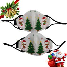 2020 Natale led luce su maschera luminosa 🌲myalleshop Led Light Mask, Hat Display, Bar Led, Cool Masks, Glow Party, Vintage Couture, Strobing, Cool Gifts, Light Up