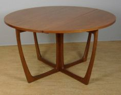 *VINTAGE BEITHCRAFT DANISH STYLE FOLDING DINING TABLE*