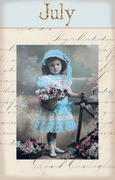 "Victorian ""Calender Girls"" ~ July"