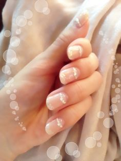 Wedding nails:)