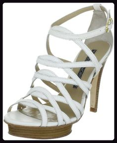 Francesco Morichetti ARIELLA 10000, Damen Sandalen/Fashion-Sandalen, Elfenbein (panna), EU 40 - Sandalen für frauen (*Partner-Link)