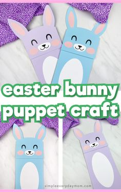 Make this cute and easy paper bag bunny craft for spring time or Easter! It's a simple activity for preschool, kindergarten & elementary children. Rabbit Crafts, Sheep Crafts, Bunny Crafts, Easter Crafts, Paper Bag Crafts, Paper Crafts For Kids, Crafts For Kids To Make, Early Childhood Activities, Kid Activities