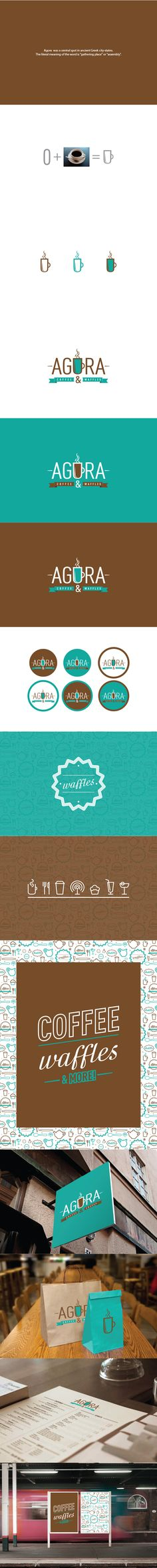 AGORA by Sherif Adel | #stationary #corporate #design #corporatedesign #logo #identity #branding #marketing <<< repinned by an #advertising agency from #Hamburg / #Germany - www.BlickeDeeler.de | Follow us on www.facebook.com/BlickeDeeler