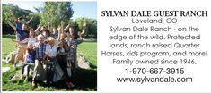 Colorado Guest Ranch - Sylvan Dale Guest Ranch, Loveland CO Dude Ranch Vacations, Guest Ranch, Reunions, Colorado, How To Memorize Things, Horse, Aspen Colorado, Horses, Colorado Hiking