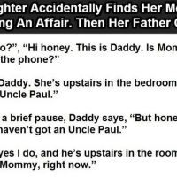 Daughter Accidentally Finds Her Mother Having An Affair. This Is Priceless. Having An Affair, Meet Singles, Qoutes, Daddy, Daughter, Lol, Sayings, Random, Nice