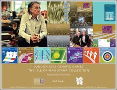Paul Smith's London 12 Olympics: Isle Of Man Stamp Collection London 2012 Game, Group Of Seven, Space Gallery, Sir Paul, Victoria, Isle Of Man, Stamp Collecting, Olympic Games, Islands