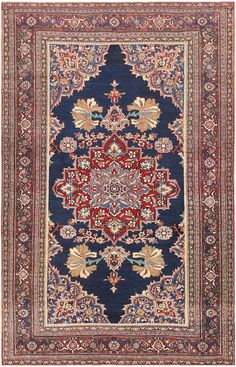 Antique Persian Khorassan Rug 47493 Detail/Large View - By Nazmiyal