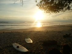 Playa Santa Teresa is a surfer town, and sunset sessions right out our back door are spectacular. http://www.flipkey.com/puntarenas-vacation-rentals/p442489/  Santa Teresa Costa Rica surfing