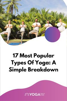 If you are bombarded with everyday stressors that are making your life miserable, maybe it is time to try out some popular types of yoga techniques. While there are quite a few styles to choose from, here are some of the main ones. These can be explored safely by beginners, under the tutelage of your yoga instructor. #yoga #yogatypes #yogatypesstyle Fitness Exercises, Yoga Fitness, Fitness Tips, Easy Yoga Poses, Yoga Poses For Beginners, Different Types Of Yoga, Yoga Quotes, Yoga Routine, Yoga Tips
