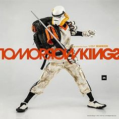 Hong Kong Toy Designer 3A 3AA THREEA 1/6 TOMORROW KINGS POPBOT LONELY STAR WARRIOR TK DIRTY SERGEANT White Rare Action Figure 1pc