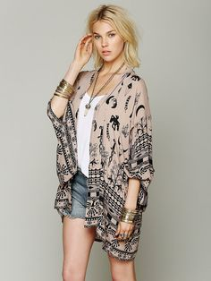 Spell and the Gypsy Collective Boho Tribal Kimono at Free People Clothing Boutique