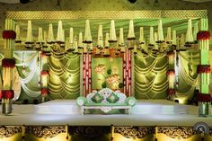 Mesmerize your guests with the charm of these engagement stage decorations ideas. Discover about the latest Engagement Stage Decoration Ideas with this post. Engagement Stage Decoration, Wedding Stage Backdrop, Wedding Hall Decorations, Marriage Decoration, Wedding Mandap, Backdrop Decorations, Flower Decorations, Decor Wedding, Backdrops