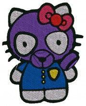 Gas Kitty - Machine Embroidery Designs