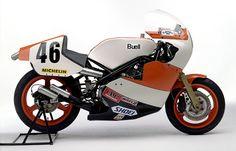 土日祝日はアドレナリンの日 Buell Racing × TZ750