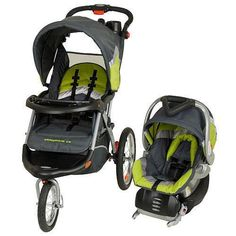 Baby Trend Green/Gray. Awesome travel system!