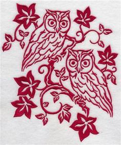 Machine Embroidery Designs at Embroidery Library! - Autumn Birds