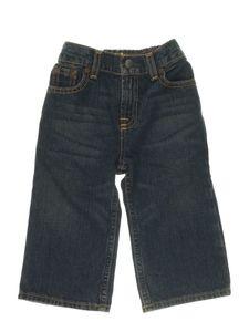 Calça Jeans Lavagem Dirty Elástico Infantil
