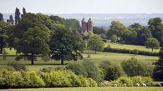 Sissinghurst Castle and its famous gardens . . . a stone's throw from my ancestral home of Cranbrook, Kent.