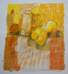 Paul Balmer - Still life, orange-2