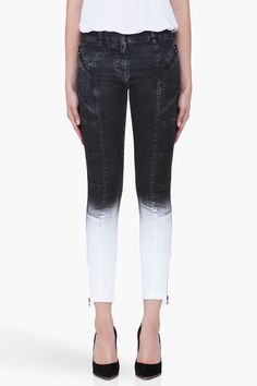 PIERRE BALMAIN Slim Dipped Shadow Jeans