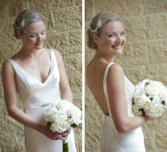 Vanessa Wedding dress - gwendolynne = Sorrento Wedding {Meg   Leighton}