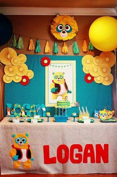 Special Agent Oso Party via KarasPartyIdeas.com