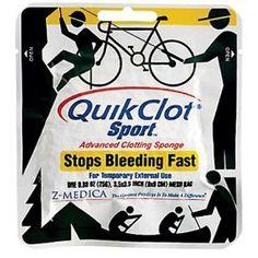 #10: QuikClot Sport, Advanced Clotting Sponge 25G.