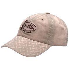 Justin Diamond Plate Ball Cap