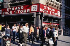 strand bookstore, nyc. 18 miles of books. you may never leave.