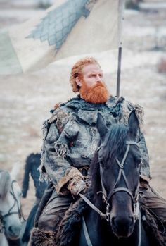 "gameofthronesdaily: "" ♕ Tormund in Game of Thrones 6.09 ""Battle of the Bastards"" """