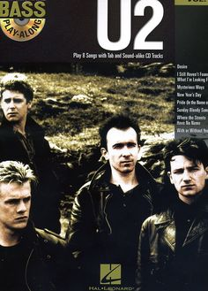 Hal Leonard - U2 Bass Play-Along Volume 41 Book/CD